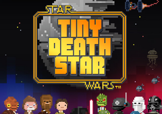 Star Wars-themed Tiny Death Star mobile game teased, Disney Mobile and NimbleBit team up for 8-bit title