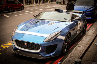Jaguar Project 7 F-Type pictures and eyes-on