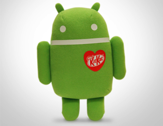 Can't wait for the Nexus 5 and Android 4.4? Bide the time with a KitKat Android plush toy out now