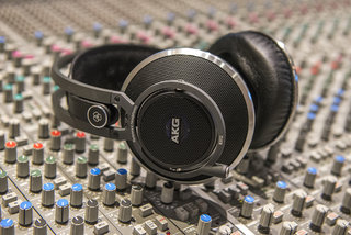 AKG K812 hands-on, we sample the £1,000 professional studio monitor headphones