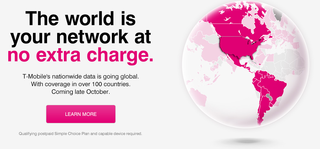 T-Mobile US announces free global data coverage in 100+ countries for customers