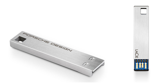You fancy, huh? LaCie unveils Porsche-designed USB key with up to 32GB of storage