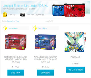 nintendo opens online store for uk with limited edition pokemon 3ds xl consoles on offer image 2