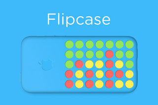 Turn your iPhone 5C case into a Connect Four game with Flipcase