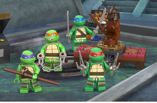 win limited edition lego teenage mutant ninja turtle minifigure image 5