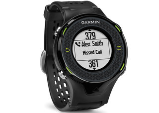 Garmin Approach S4 smart golf watch receives notifications from your phone
