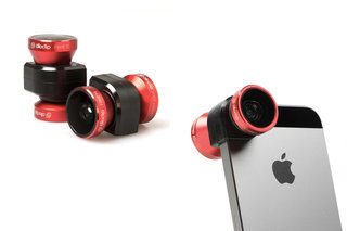 New 4-in-1 olloclip makes your iPhone camera even better with fisheye, wide-angle and dual macro lenses