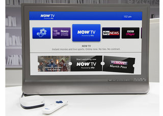 NOW TV Box bundled with Sky Sports or Sky Movies on sale today in the UK