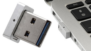 World's smallest USB flash drive is almost too small