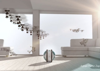 Flying robot cleaners, a breathing wall and holographic kitchen assistants: Electrolux Design Awards 2013 are here