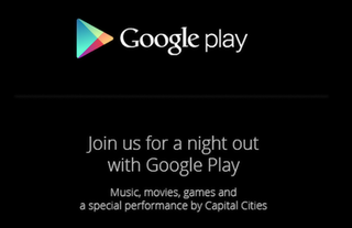Google Play event set for 24 October, invitations for a 'night out' begin to arrive