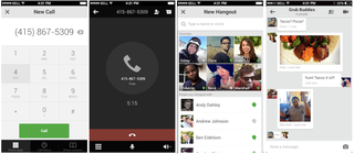 Google Hangouts for iOS updated with free voice calls in the US