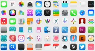 Icon theme pack brings iOS 7 to OS X since Apple won't