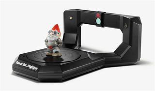 MakerBot Digitizer Desktop 3D Scanner coming to the UK, creates 3D printer file from any object