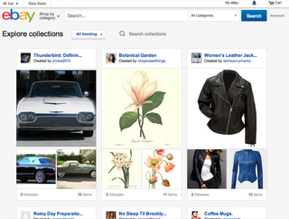 Curated collections on eBay introduced, featuring expert curators like Pharrell Williams