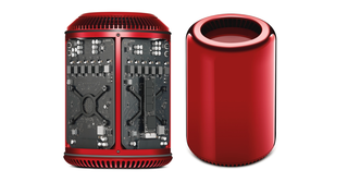 Apple designer Jony Ive creates red Mac Pro for Product (RED) charity