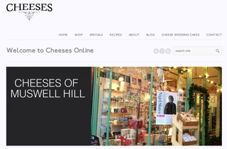 Website of the day: Cheeses Online