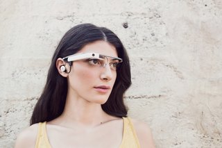 Google previews new Glass hardware with earbud