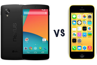 Google Nexus 5 vs iPhone 5C: What's the difference?
