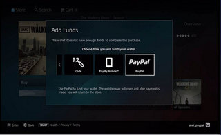 PS3 PlayStation Store adds PayPal support, letting you buy securely