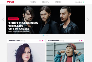 Vevo's been rebuilt: Major redesign launched for web and mobile web
