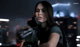 Megan Fox lights up Call of Duty: Ghosts live-action trailer: The Hangover with automatic weaponry