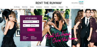 Website of the day: Rent the Runway