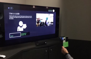 Microsoft shows how crazy-fast Xbox One's Kinect will redeem a code
