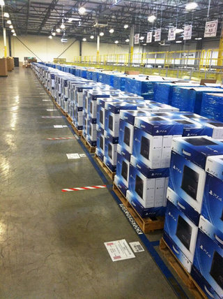 ps4 arrives in amazon warehouses only one week to go before launch image 2