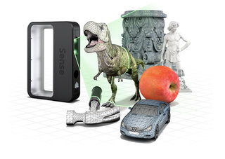 3D Systems' Sense 3D scanner captures 10 foot by 10 foot objects for only £279