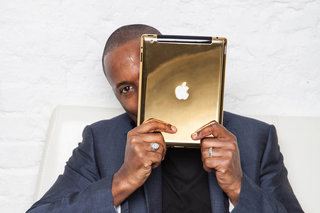 Now that's a gold Apple device: Goldgenie works its 24ct magic on iPad Air and iPad mini Retina display