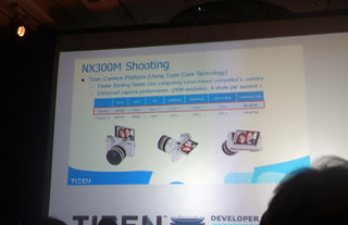 Samsung's first Tizen product is NX300M compact system camera, not smartphone