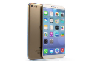 Look at this iPhone 6, we hope this is the iPhone 6. Wouldn't it be a great iPhone 6?