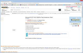 moto g release date price and other details appear on amazon co uk image 2