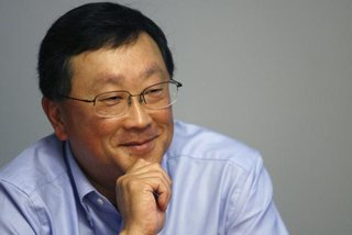 BlackBerry's new chief John Chen will get roughly $88m in pay package