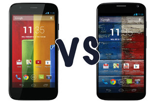 Moto X vs Moto G: What's the difference?
