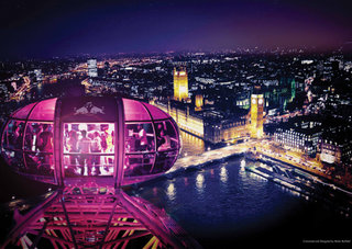 World record number of live performances to be streamed from 30 London Eye capsules tonight