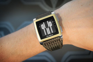 Kisai Rorschach ePaper watch takes a new approach to reading the time
