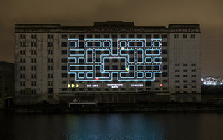 Pac-Man returning, celebrates with world's largest playable version