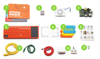 Kano turns Raspberry Pi into a Lego-like kit for all ages