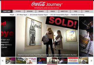 Website of the day: Coca-Cola Journey
