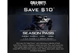 Call of Duty: Ghosts DLC packs leaked by Activision