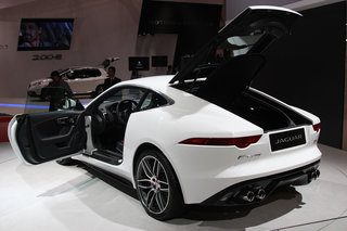 jaguar f type r coupe pictures and hands on image 5