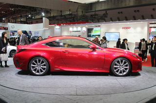 lexus rc 300h pictures and hands on image 2