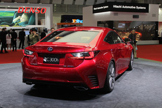 lexus rc 300h pictures and hands on image 5