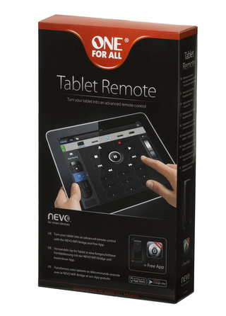 one for all nevo app and wi fi bridge turn your ipad or android tablet into an universal remote image 2