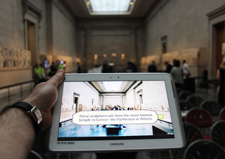 The British Museum and Samsung bring augmented reality to museum learning