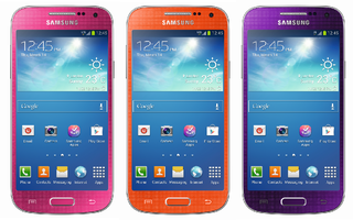 Samsung Galaxy S4 Mini now available in retina-searing purple, orange or pink at Carphone Warehouse