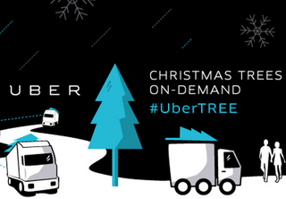 Need a Christmas tree? Uber will deliver one to your door tomorrow for $135