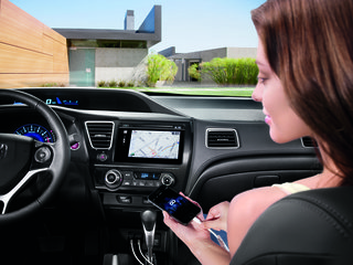 Honda's Display Audio brings Nokia Here maps and Siri Eyes Free to 2014 Civic